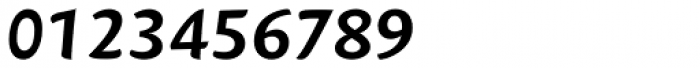 Mantika Sans Pro Cyrillic Bold Italic Font OTHER CHARS