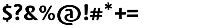 Mantika Sans Pro Cyrillic Bold Font OTHER CHARS