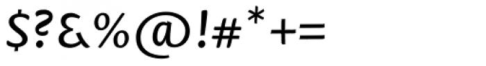 Mantika Sans Pro Italic Font OTHER CHARS