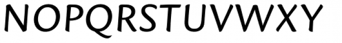 Mantika Sans Pro Italic Font UPPERCASE