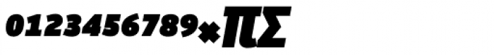 Manual Sans Italic Blk Caps Expert Font UPPERCASE