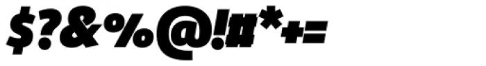 Manual Sans Italic Blk Caps TF Font OTHER CHARS