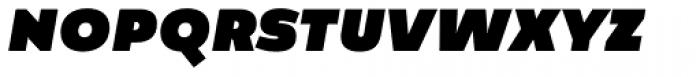 Manual Sans Italic Blk Caps Font LOWERCASE
