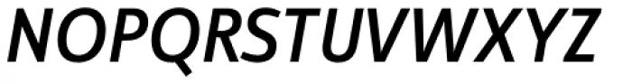 Manual Sans Italic Med Caps LF Font UPPERCASE