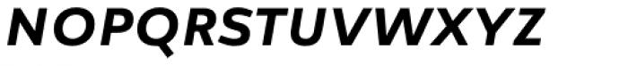 Manual Sans Italic Med Caps LF Font LOWERCASE