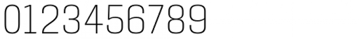 Manual Thin Condensed Font OTHER CHARS