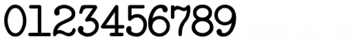 Manual Typewriter JNL Font OTHER CHARS