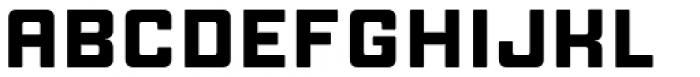 Manufaktur Expanded Black Font UPPERCASE