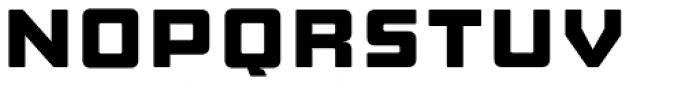 Manufaktur Expanded Heavy Font UPPERCASE