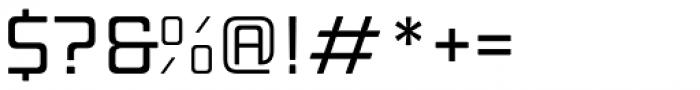 Manufaktur Expanded Medium Font OTHER CHARS