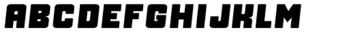 Manufaktur Heavy Italic Font LOWERCASE