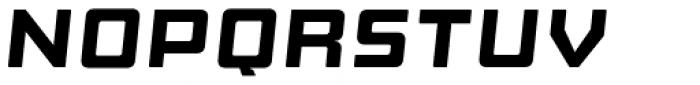 Manufaktur Ultra Ex Black Italic Font UPPERCASE