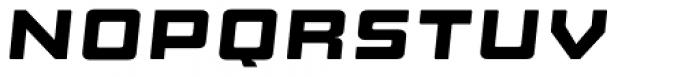Manufaktur Ultra Ex Black Italic Font LOWERCASE