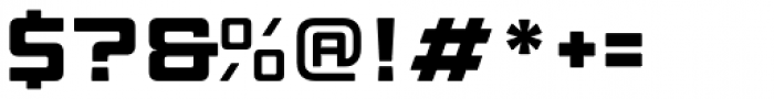 Manufaktur Ultra Expanded Black Font OTHER CHARS