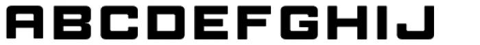 Manufaktur Ultra Expanded Black Font LOWERCASE