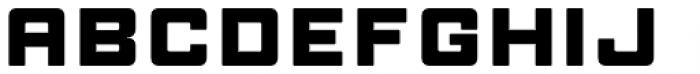 Manufaktur Ultra Expanded Heavy Font UPPERCASE
