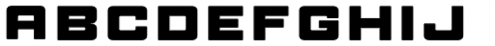 Manufaktur Ultra Expanded Heavy Font LOWERCASE