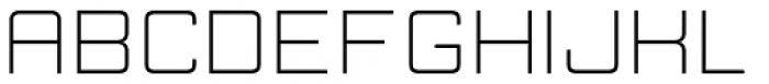 Manufaktur Ultra Expanded Light Font UPPERCASE
