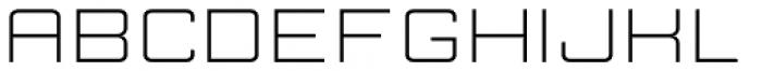 Manufaktur Ultra Expanded Light Font LOWERCASE
