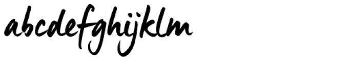 Manus Smooth Font LOWERCASE