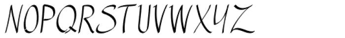 Manuscrita Font UPPERCASE