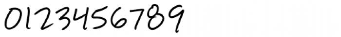 Manwriting Font OTHER CHARS