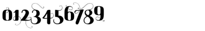 Maple Lane Cursive Fancy Font OTHER CHARS
