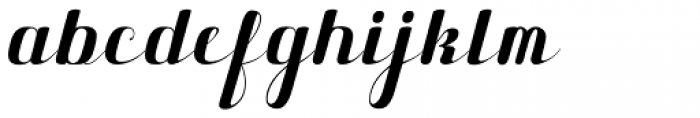 Maple Lane Cursive Font LOWERCASE