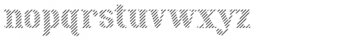 Maple Street Stripe Font LOWERCASE