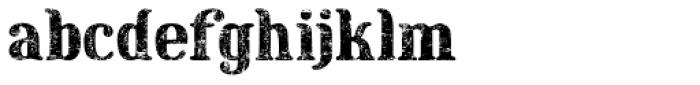 Maple Street Vintage Font LOWERCASE