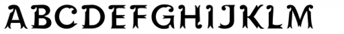 Maracay Inner Font UPPERCASE