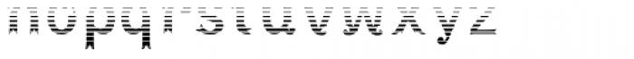 Maracay Shade Font LOWERCASE