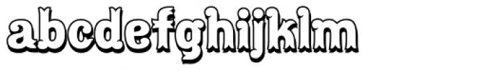 Maracay Shadow Font LOWERCASE