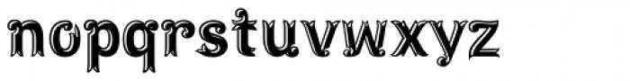 Maracay Tooled Font LOWERCASE