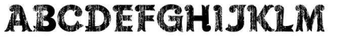 Maracay Wood Font UPPERCASE