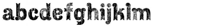 Maracay Wood Font LOWERCASE