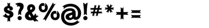 Maracay Font OTHER CHARS