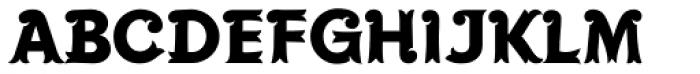 Maracay Font UPPERCASE