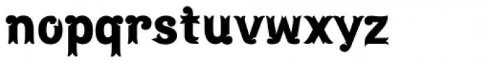 Maracay Font LOWERCASE