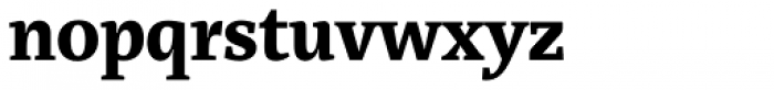 Marat Bold Font LOWERCASE
