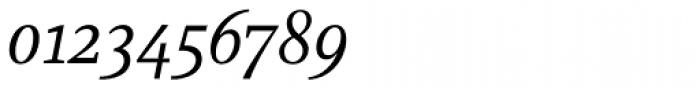 Marat Light Italic Font OTHER CHARS