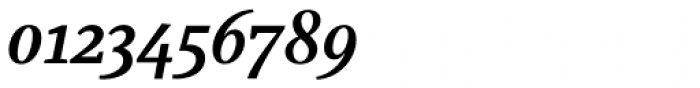 Marat Medium Italic Font OTHER CHARS