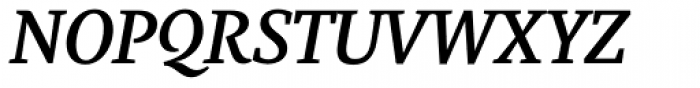 Marat Medium Italic Font UPPERCASE
