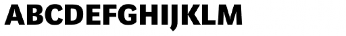 Marat Sans Bold Small Caps Font LOWERCASE