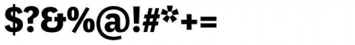 Marat Sans Bold Font OTHER CHARS