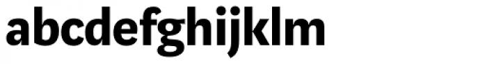 Marat Sans Bold Font LOWERCASE