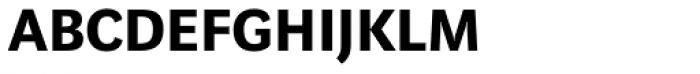 Marat Sans DemiBold Small Caps Font LOWERCASE