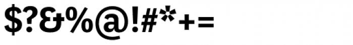 Marat Sans DemiBold Font OTHER CHARS