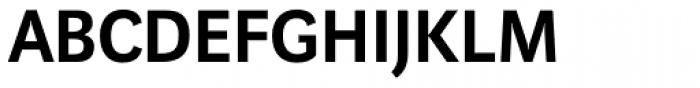 Marat Sans DemiBold Font UPPERCASE