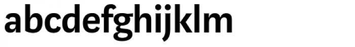 Marat Sans DemiBold Font LOWERCASE